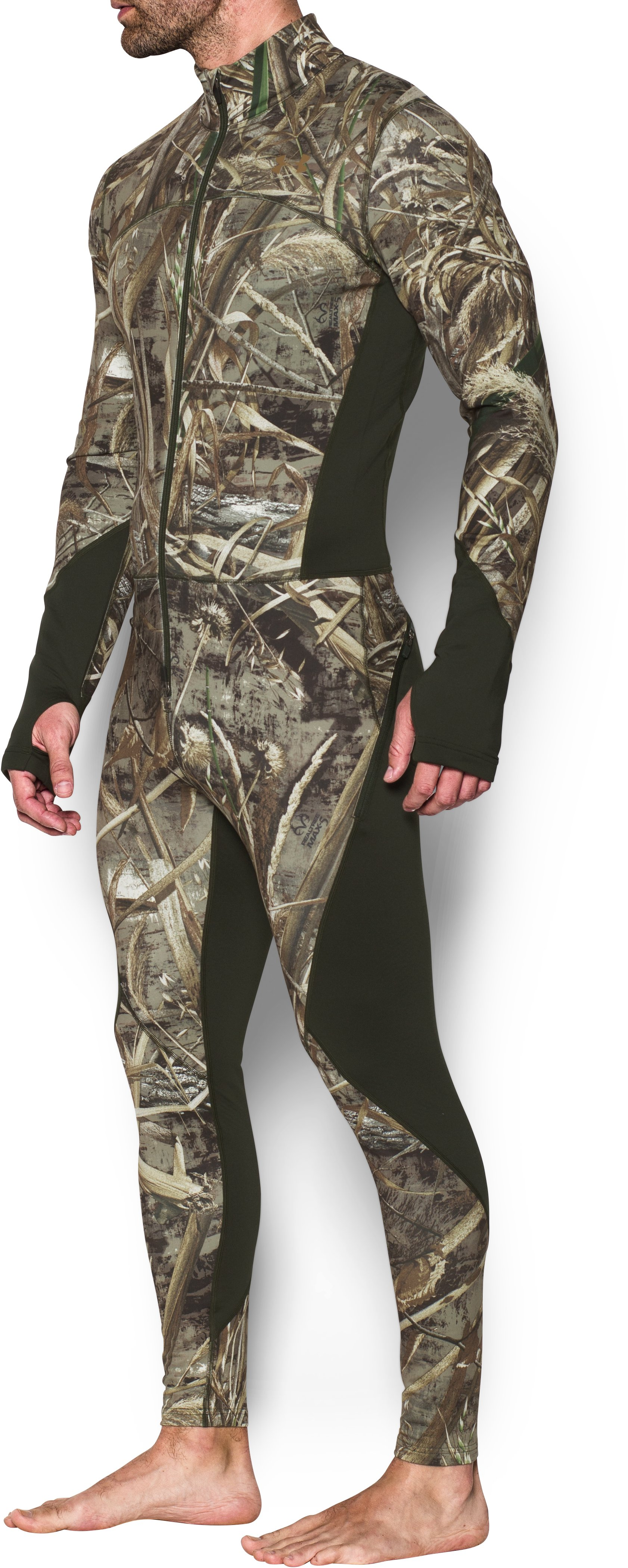 Men's UA ColdGear® Armour Scent Control Ninja, REALTREE MAX 5, undefined