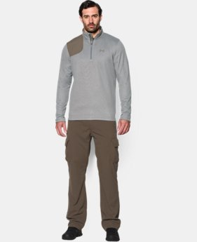 Men's UA Borderland ¼ Zip  3 Colors $32.99 to $42.99