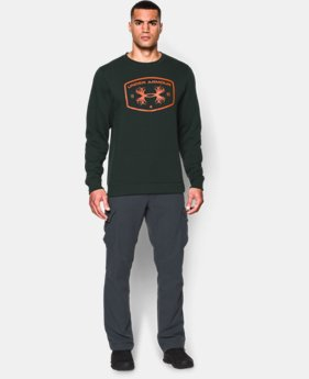 Men's UA Hunt Fleece Crew  1 Color $34.99