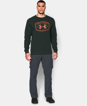 Men's UA Hunt Fleece Crew  1 Color $26.24