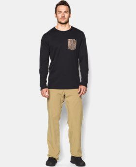 Men's UA Borderland Thermal Crew  1 Color $29.99