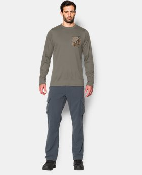 Men's UA Borderland Thermal Crew  5 Colors $29.99