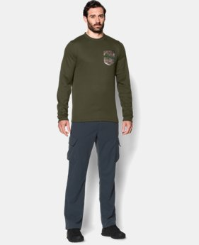 Men's UA Borderland Thermal Crew  1 Color $28.49