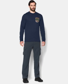 Men's UA Borderland Thermal Crew LIMITED TIME: FREE U.S. SHIPPING 1 Color $28.49