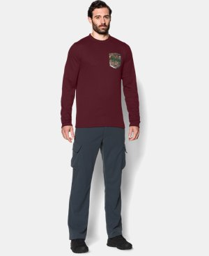 Men's UA Borderland Thermal Crew   $28.49