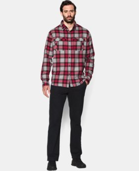 Men's UA Borderland Flannel  1 Color $67.99