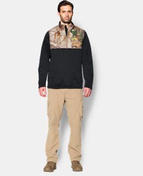 Men's UA Caliber ¼ Zip LIMITED TIME OFFER + FREE U.S. SHIPPING 2 Colors $52.49