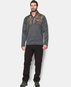 New Arrival  Men's UA Caliber ¼ Zip   $79.99
