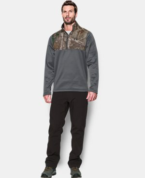 Men's UA Caliber ¼ Zip LIMITED TIME: FREE SHIPPING 1 Color $59.99