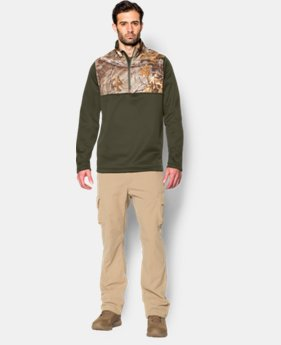 Men's UA Caliber ¼ Zip  1 Color $41.99
