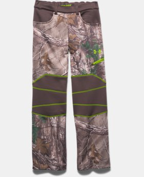 Boys' UA ColdGear® Infrared Scent Control Pants