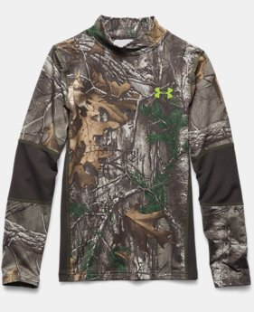 Boys' UA ColdGear® Armour Scent Control Mock
