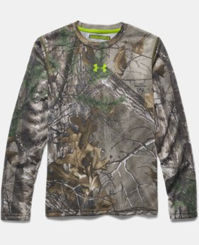 Boys' UA Tech™ Scent Control Long Sleeve T-Shirt