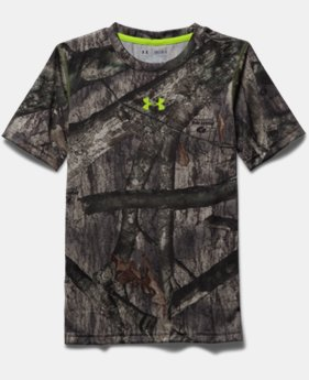 Boys' UA Tech™ Scent Control T-Shirt