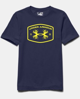 Boys' UA Antler Patch T-Shirt