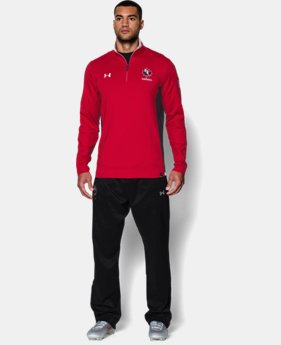 Men's Rugby Canada UA Storm ¼ Zip  1 Color $89.99