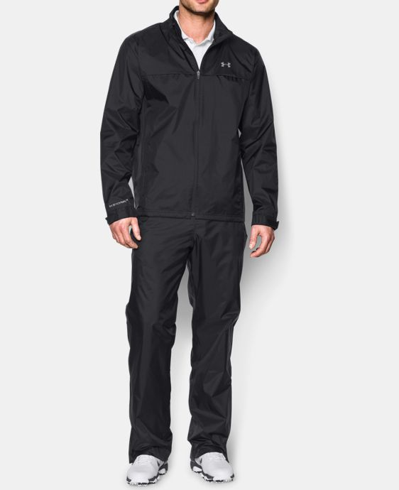 Men's UA Storm Golf Rain Suit LIMITED TIME: FREE U.S. SHIPPING 1 Color $169.99