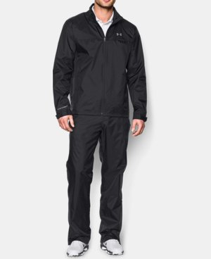 Men's UA Storm Golf Rain Suit  1 Color $199.99