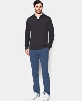 Men's UA Tips ¼ Zip Sweater