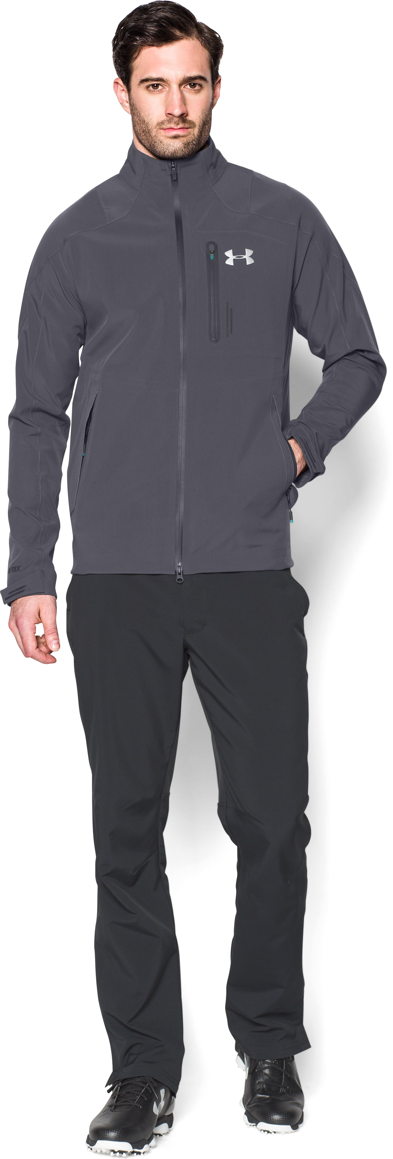 Men's UA Storm Tips GORE-TEX® Jacket, STEALTH GRAY