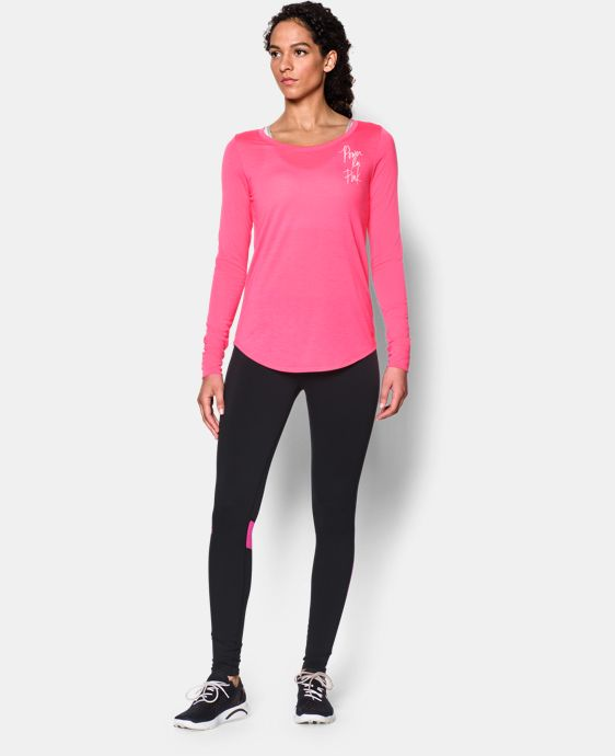 Women's UA Power In Pink® Long Sleeve LIMITED TIME: FREE SHIPPING 1 Color $29.99