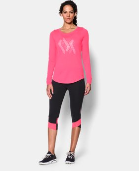Women's UA Power In Pink® Triple Ribbon Long Sleeve  1 Color $29.99