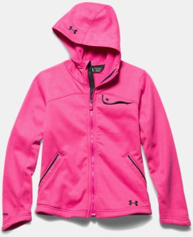 Girls' UA Extreme ColdGear® Hooded Jacket