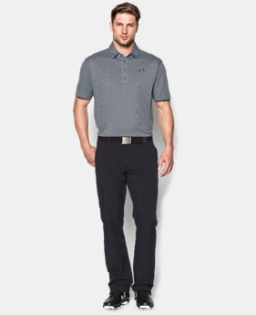 Men's HeatGear® ArmourVent™ Jacquard Polo