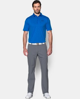 Men's HeatGear® ArmourVent™ Jacquard Polo  2 Colors $67.99