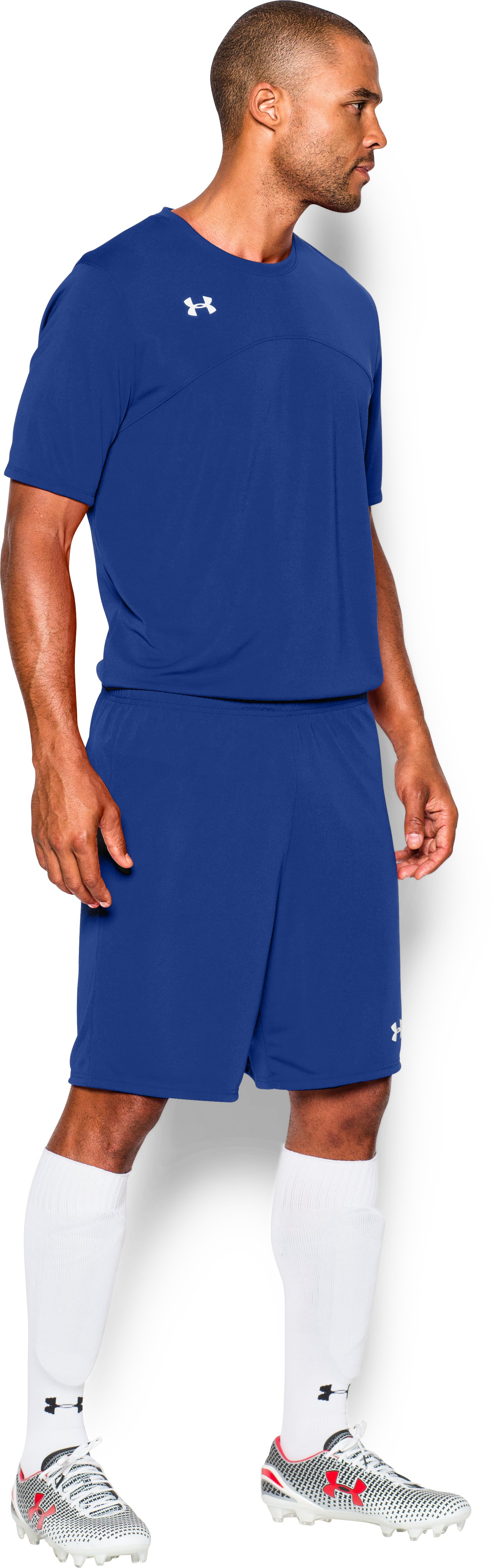 Men's UA Golazo Soccer Shorts, Royal,