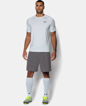 Men's UA Hustle Soccer Shorts LIMITED TIME: FREE U.S. SHIPPING 2 Colors $29.99