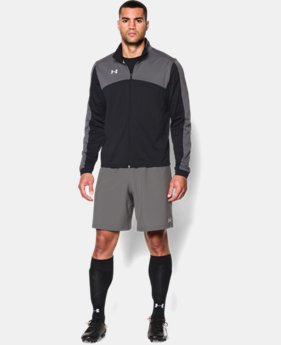 New Arrival  Men's UA Futbolista Soccer Track Jacket LIMITED TIME: FREE SHIPPING  $69.99