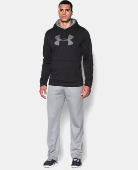 Men's UA Storm Armour® Fleece Big Logo Hoodie EXTENDED SIZES  $54.99