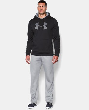 Men's UA Storm Armour® Fleece Big Logo Hoodie  2 Colors $38.99