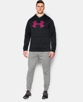Men's UA Storm Armour® Fleece Big Logo Hoodie EXTENDED SIZES 8 Colors $41.99