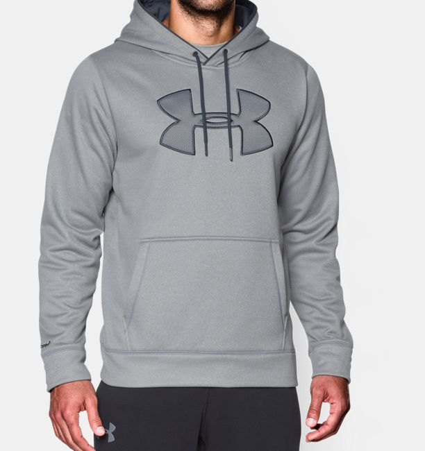 6d14cee40ed5 Men s UA Storm Armour Fleece® Big Logo Hoodie