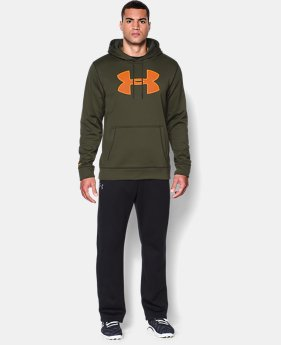 Men's UA Storm Armour® Fleece Big Logo Hoodie  1 Color $31.49 to $41.99