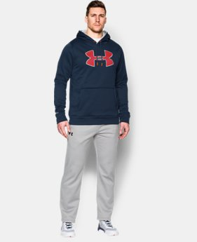 Men's UA Storm Armour® Fleece Big Logo Hoodie  19 Colors $31.49 to $41.99