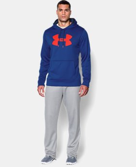 Men's UA Storm Armour® Fleece Big Logo Hoodie EXTENDED SIZES 6 Colors $41.99