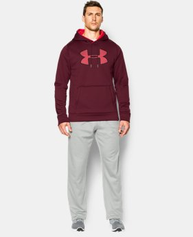 Men's UA Storm Armour® Fleece Big Logo Hoodie EXTENDED SIZES 4 Colors $41.99