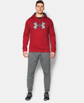 Men's UA Storm Armour® Fleece Big Logo Hoodie LIMITED TIME: UP TO 30% OFF 2 Colors $31.49 to $40.99