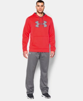 Men's UA Storm Armour® Fleece Big Logo Hoodie