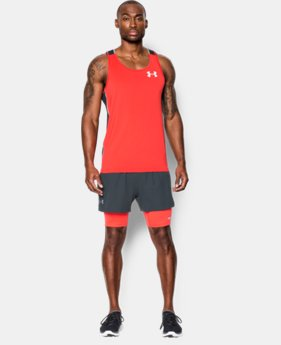 Men's UA Launch Racer 2-in-1 Shorts LIMITED TIME: FREE U.S. SHIPPING  $44.99