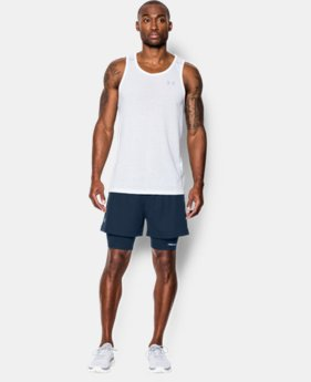 Men's UA Launch Racer 2-in-1 Shorts  1 Color $44.99