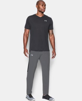 Men's UA Launch Run Stretch-Woven Pants  1 Color $56.99