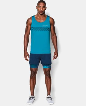 Men's HeatGear® ArmourVent™ Apollo Singlet   $37.99