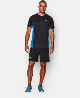 Men's UA Charged Wool Run Short Sleeve LIMITED TIME: FREE U.S. SHIPPING 1 Color $44.99