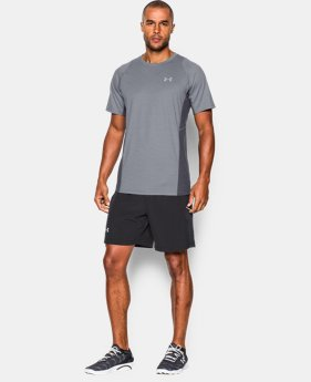 Men's UA Charged Wool Run Short Sleeve