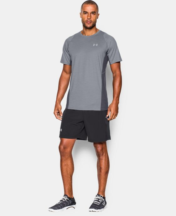 Men's UA Charged Wool Run Short Sleeve  3 Colors $44.99