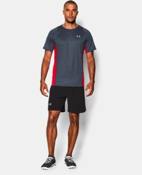 Men's UA Charged Wool Run Short Sleeve  1 Color $59.99